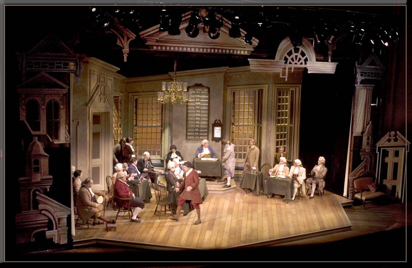 Set Design by Richard Finkelstein, Stage Designer