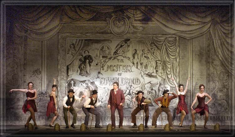 Mystery of Edwin Drood - Set Design by Richard Finkelstein, Stage ...