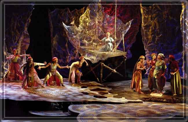 Medea - Set Design by Richard Finkelstein, Stage Designer