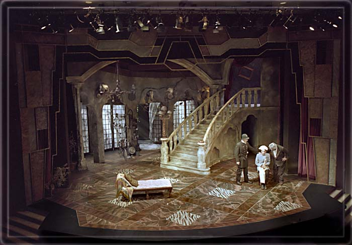 The Miser by Moliere - Set Design by Richard Finkelstein, Stage Designer