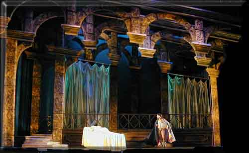 What do we learn about the time in which romeo and juliet is set?