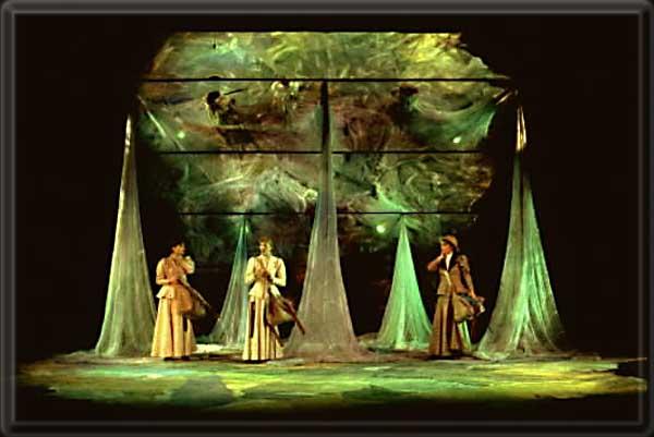 on the verge set design by richard finkelstein stage