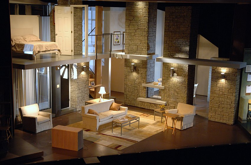 Lovely Front Of House Theatre Design Part - 13: The Desperate Hours By Joseph Hayes - Barter Theatre - Directed By Rick  Rose - Scenery