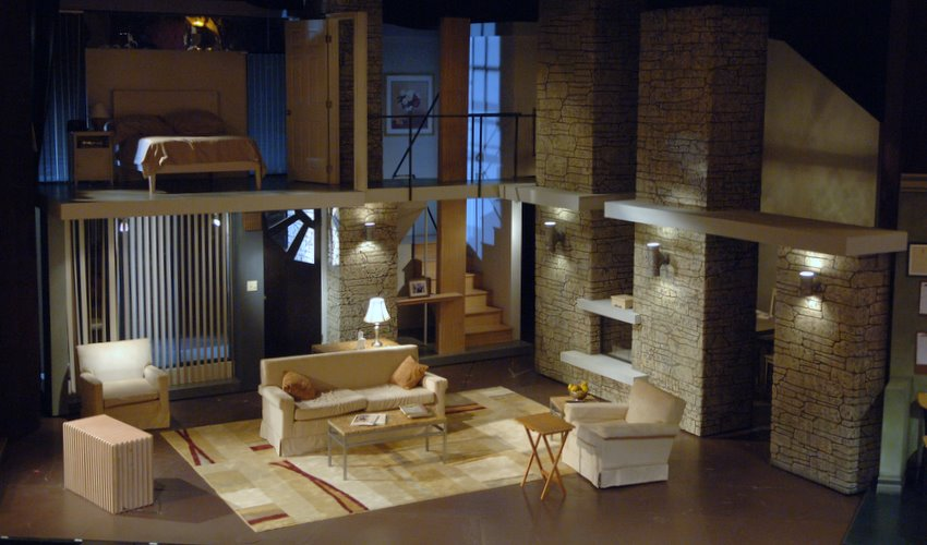 Light Designs For Homes Set Endearing Set Designrichard Finkelstein Stage Designer Design Decoration