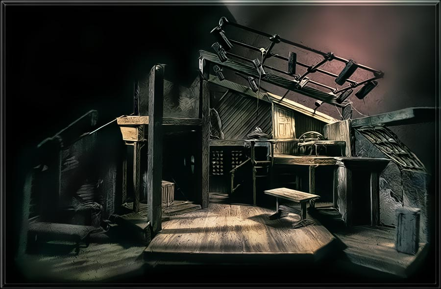 anne frank scenery design and lighting design by richard finkelstein