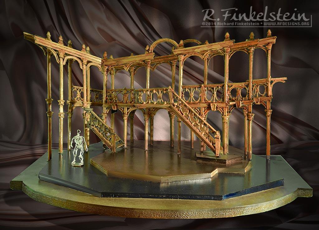 Merchant Of Venice Set Design By Richard Finkelstein Stage Designer