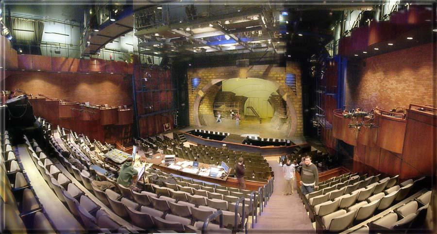 ABOVE: Carnegie-Mellon University, Purnell Center, Choskey Theatre